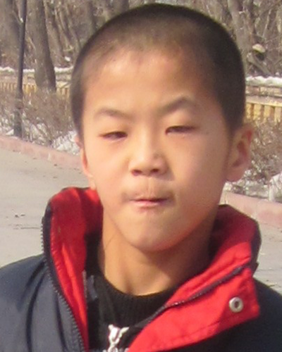 Sha Jian before being adopted
